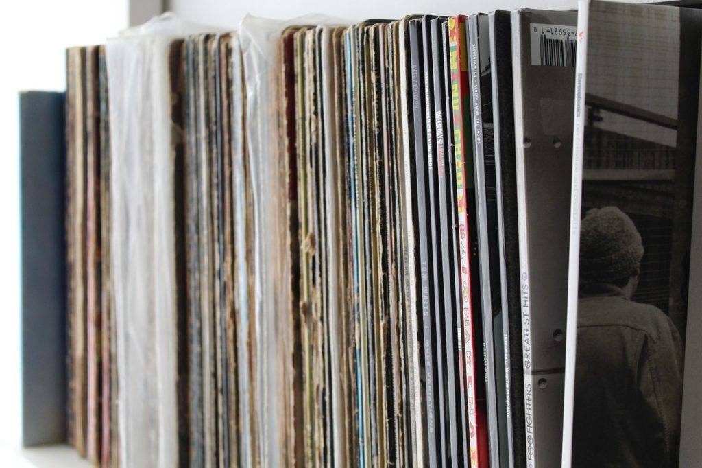 Muziek vinyl